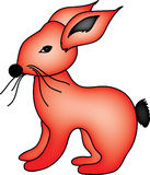 Rabbit Illustration Stock Photo