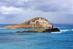 Rabbit Island Hawaii. A view of Rabbit Island in Hawaii Royalty Free Stock Images