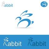 Rabbit label Stock Photo