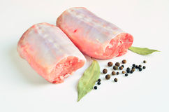 Rabbit loins Stock Image