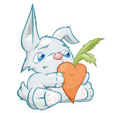 Rabbit in love Royalty Free Stock Images