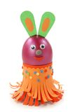 Rabbit made from egg Royalty Free Stock Image