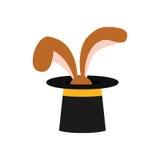 Rabbit magic trick Royalty Free Stock Images