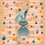 Rabbit and many eggs Stock Photography