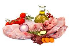 Rabbit meat Royalty Free Stock Photo