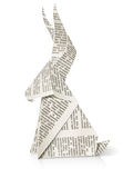 Rabbit paper origami toy Royalty Free Stock Photos