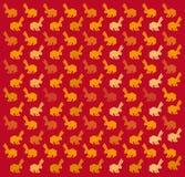 Rabbit pattern Royalty Free Stock Photos