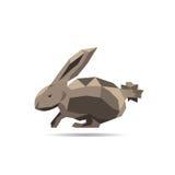 Rabbit polygon 2 Stock Photography