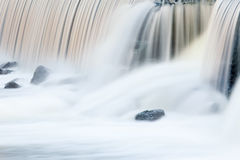 Rabbit River Cascade Royalty Free Stock Image