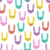 Rabbit Seamless Pattern-03 Royalty Free Stock Photography
