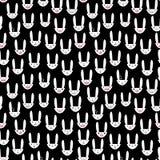 Rabbit Seamless Pattern-17 Royalty Free Stock Photos
