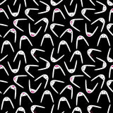 Rabbit Seamless Pattern-20 Royalty Free Stock Photography