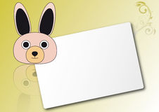 Rabbit sheet Stock Image