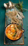 Rabbit stew Stock Photography