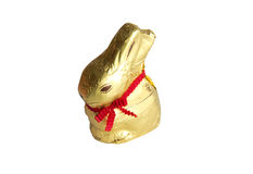 Rabbit. A sweet Easter bunny chocolate Royalty Free Stock Image