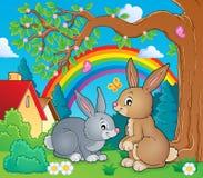 Rabbit topic image 2 Stock Image