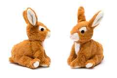 Rabbit toy Stock Photo