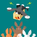 Rabbit-type drone Stock Photography