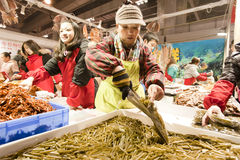 Rabbit year food exposition in Chongqing, China Royalty Free Stock Photos