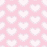 Rabbits heart background Royalty Free Stock Images