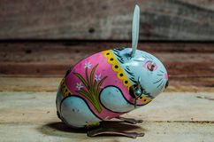 RabbitTin toys Royalty Free Stock Photos