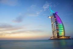 Árabe do Al de Burj Fotos de Stock Royalty Free