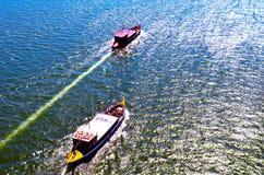 Rabelo łódź Porto zdjęcia royalty free