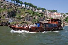 rabelo船 免版税库存照片