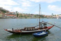 Rabelo Boat, Porto, Portugal Stock Image
