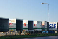 Raben trailers Stock Photography