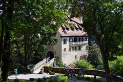 Rabenstein Castle Stock Photo