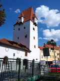 Rabenstein tower, Ceske Budejovice, Czech Republic Stock Images