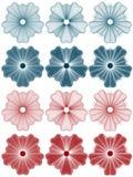 Rabescatura - rosette Immagine Stock Libera da Diritti