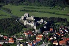 Rabi castle - air photo Stock Image