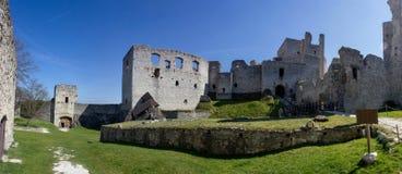 Rabi castle, Czech Republic. Rabi castle in Czech Republic royalty free stock image