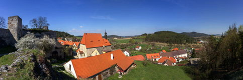 Rabi castle, Czech Republic. Rabi castle in Czech Republic stock image