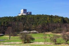 Rabi castle, Czech Republic. Rabi castle in Czech Republic stock photography