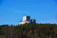 Rabi castle, Czech Republic. Rabi castle in Czech Republic stock images