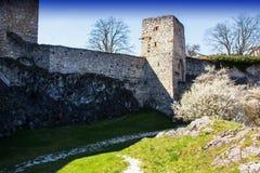 Rabi castle, Czech Republic. Rabi castle in Czech Republic royalty free stock images