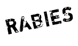 Rabies rubber stamp Royalty Free Stock Photography
