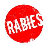 Rabies rubber stamp Royalty Free Stock Photo
