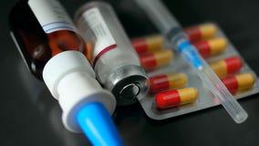Rabies treatment. Very dangerous illness treatment concept, clos Royalty Free Stock Photography