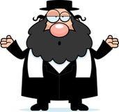 Rabino confuso de la historieta Imagen de archivo libre de regalías
