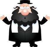 Rabino confuso de la historieta Imágenes de archivo libres de regalías