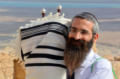 Rabino do judeu fotos de stock royalty free