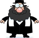 Rabino sonriente de la historieta Imágenes de archivo libres de regalías
