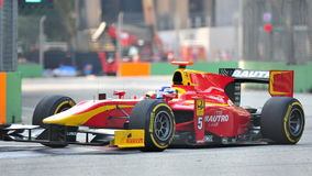 Rabio Leimer участвуя в гонке в Сингапур GP2 2012 Стоковые Изображения RF