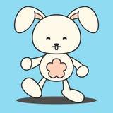 Rabit Bunny Easter Illustration Imagem de Stock Royalty Free