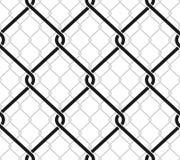 Rabitz mesh. Seamless vector pattern. Stock Image