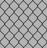 Rabitz seamless pattern. Mesh netting ornament. Mesh fence backg Royalty Free Stock Images